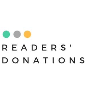 Readers' donations